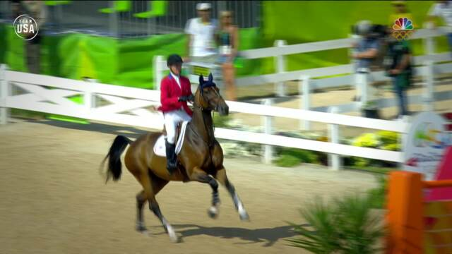 All The Best Moments From The U.S. Equestrian Team In Rio | Remembering Rio