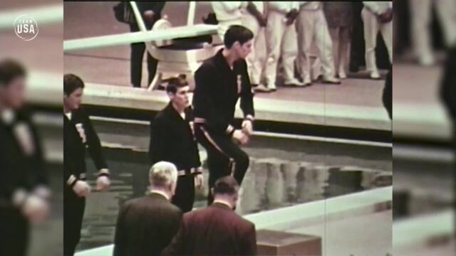 Charlie Hickcox At The 1968 Olympic Games In Mexico City