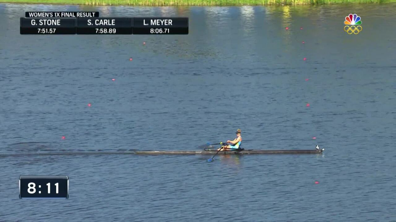 Gevvie Stone Qualifies For Her Second Olympic Team In Single Sculls