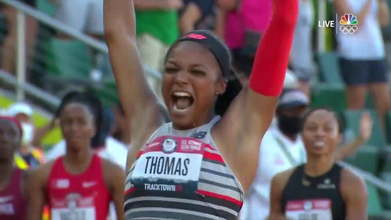 Women's 200 Meter Final | Track & Field U.S. Olympic Team Trials 2021