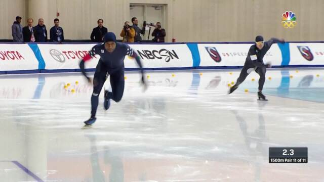 Olympic Long Track Speedskating Trials | Shani Davis And Joey Mantia Punch Tickets To PyeongChang In 1,500-Meter