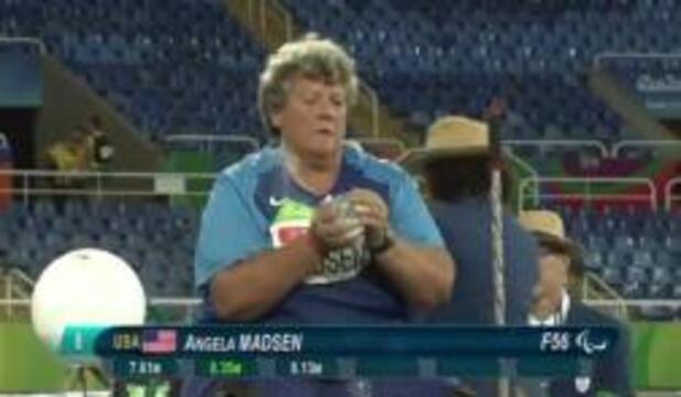 Angela Madsen | Women's Shot Put F56/57 Final | 2016 Paralympic Games