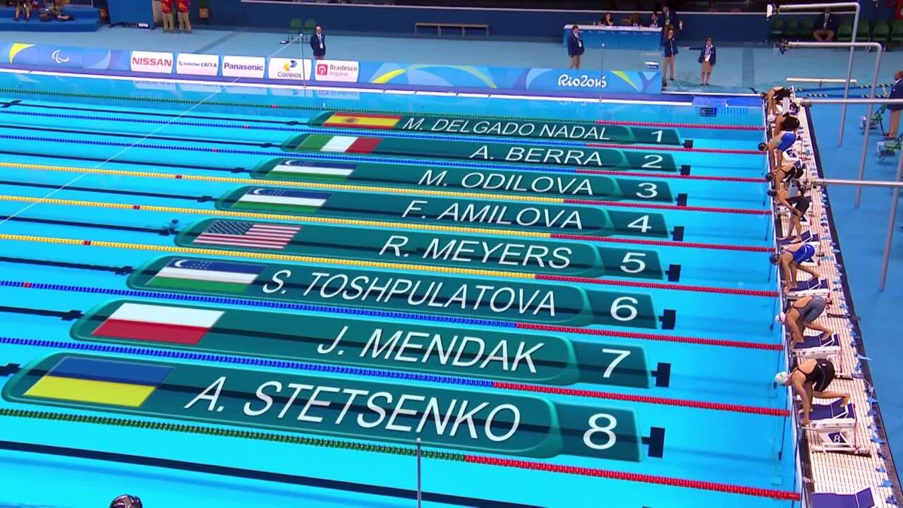 BMW Performance Of The Day | Rebecca Meyers Sets World Record In 100M Butterfly S13