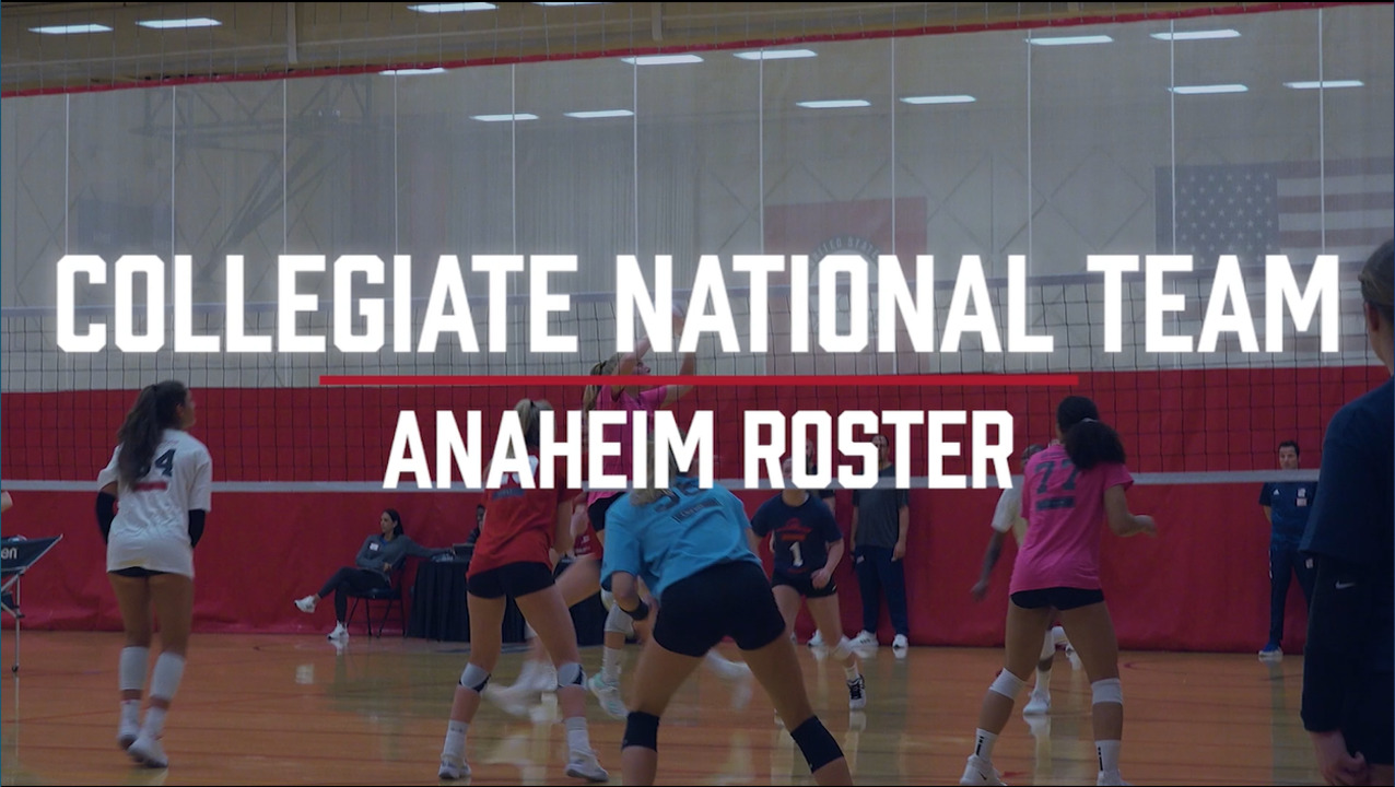 U.S. Women's Collegiate National Team | Anaheim Roster