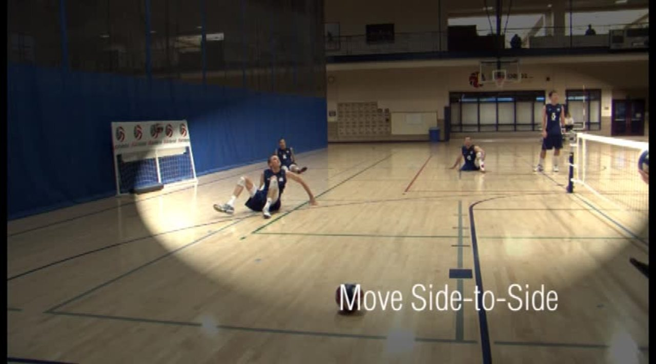 USAV Para Skill Video Movement