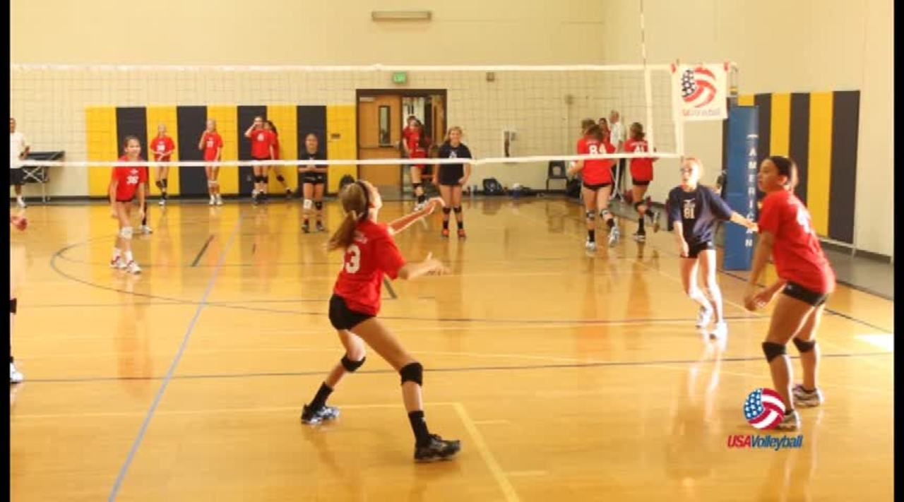 USAV Drill Video Monarch of the Court
