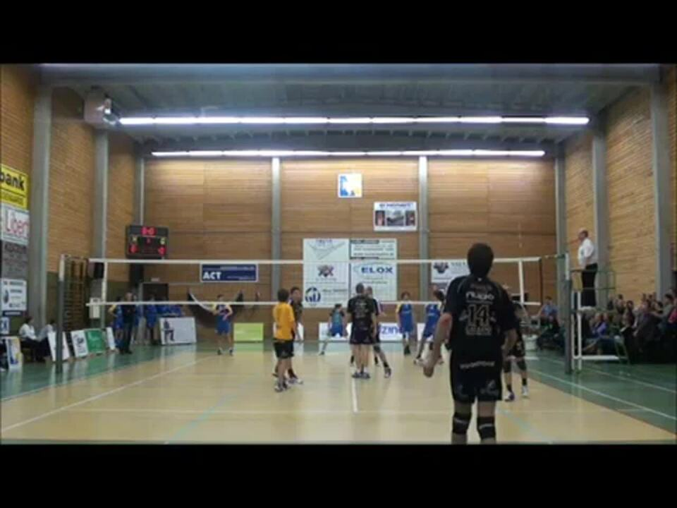 Volleyball save Thibaut Van Acker