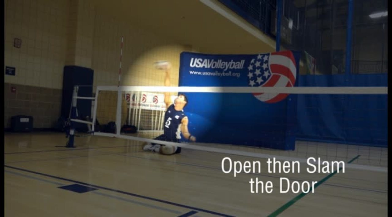 USAV Para Skill Video Right Side Hitting