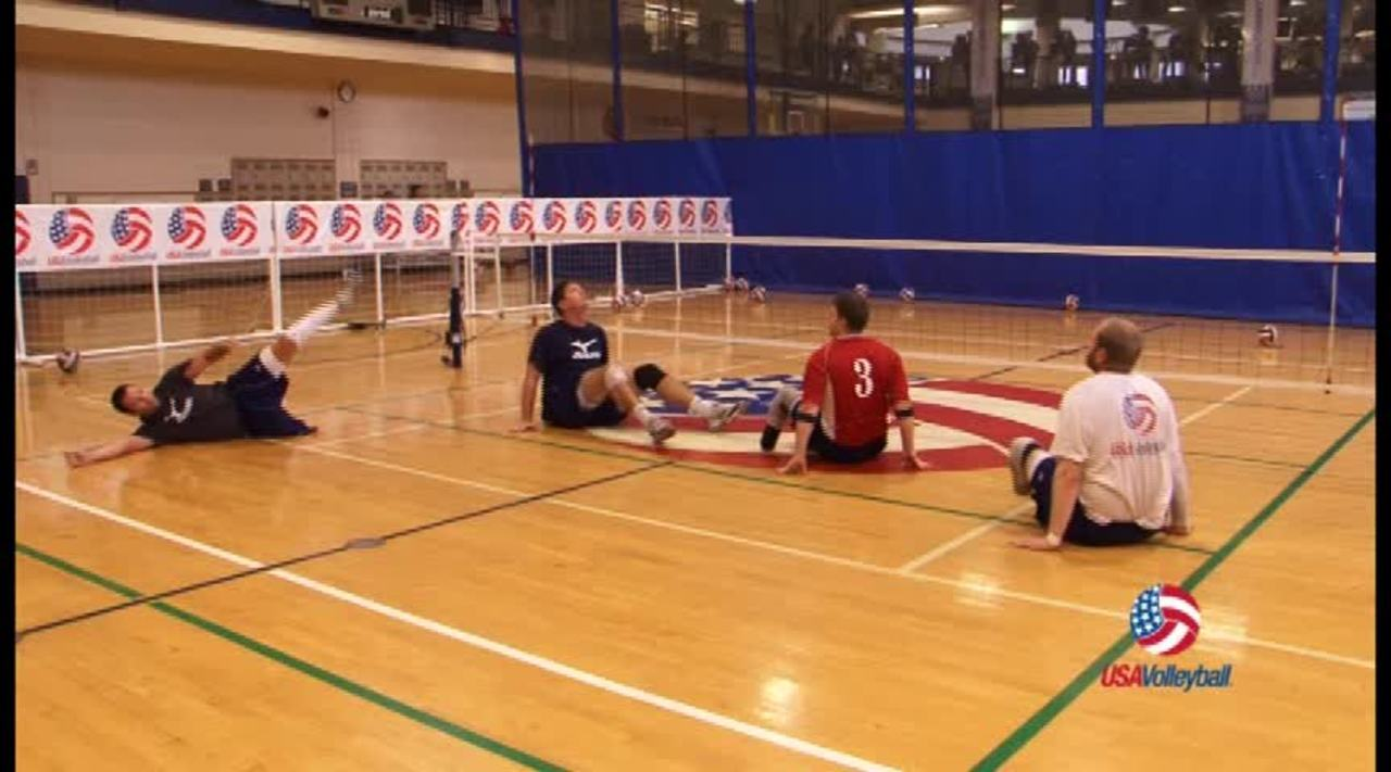 USAV Para Drill Video Lateral Movement Lines