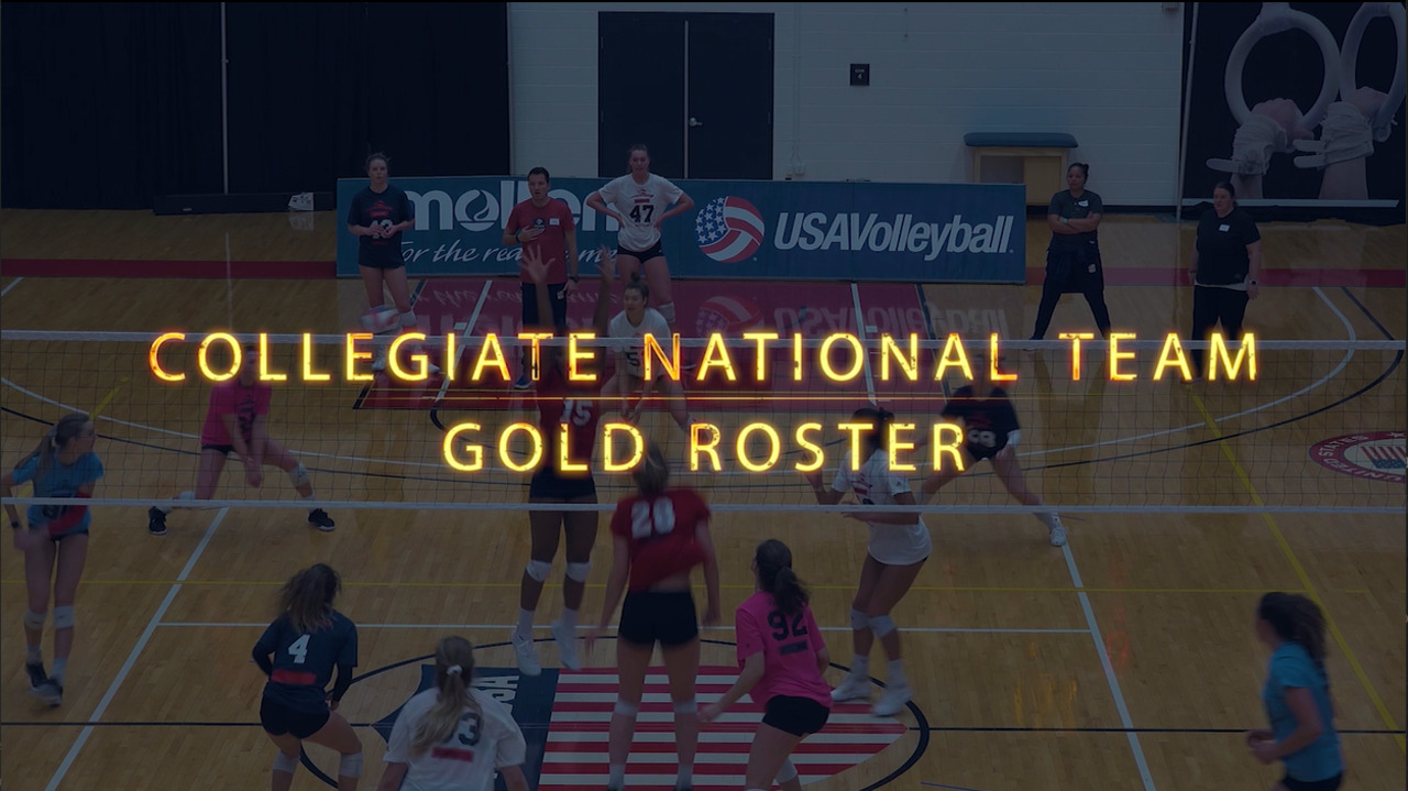 U.S. Women's Collegiate National Team | Gold Roster