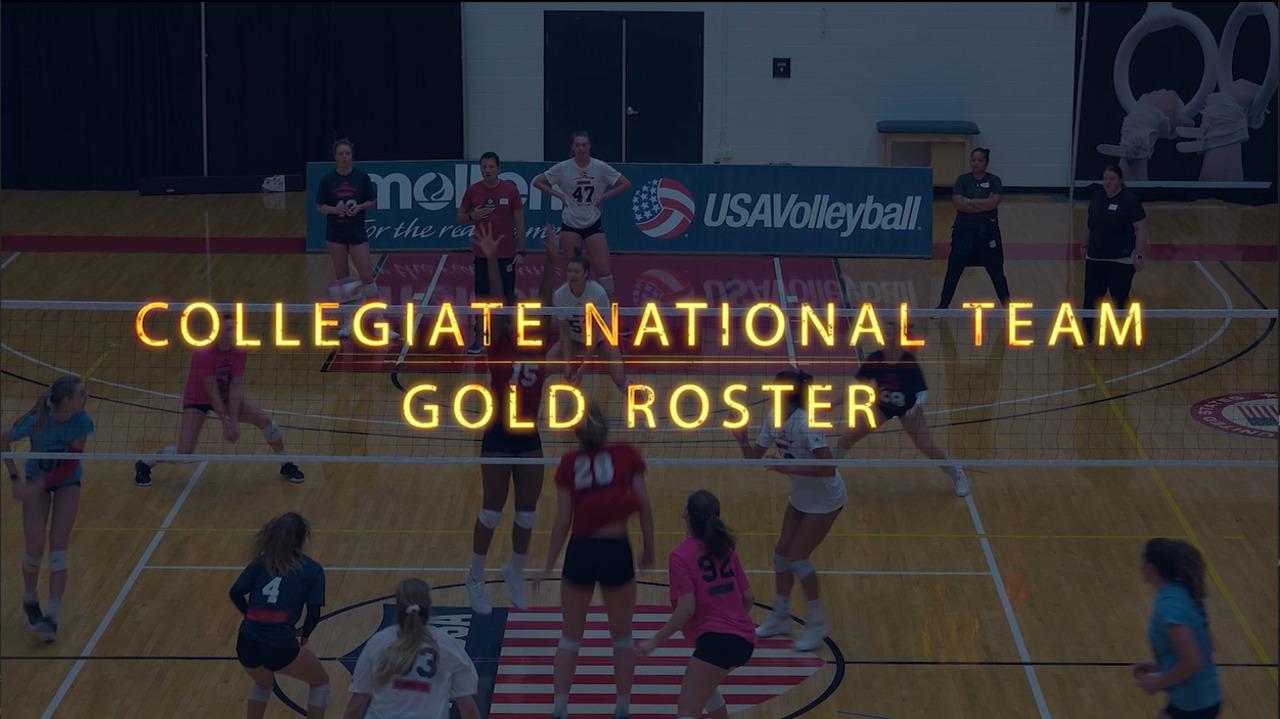 U.S. Women's Collegiate National Team | Gold Roster