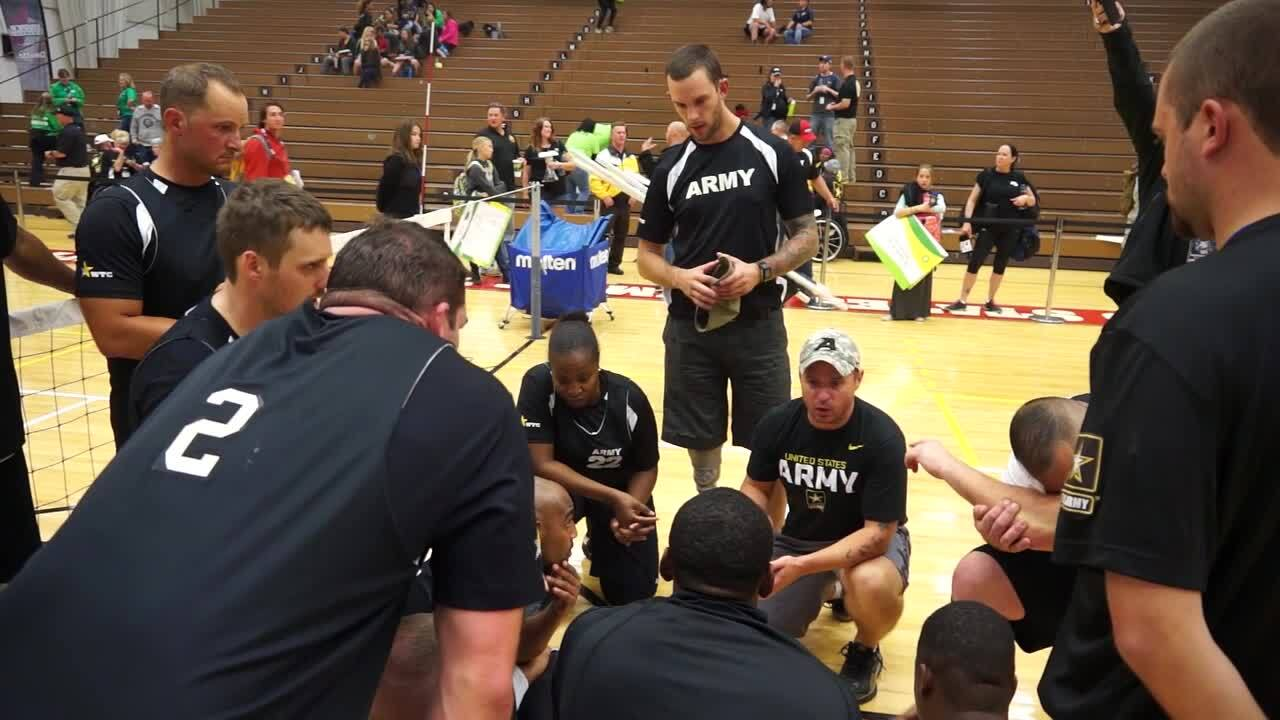 Sitting Volleyball Coaches | 2014 Warrior Games
