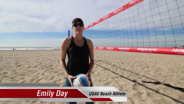 USAV Beach Tip Video - Poke Shot