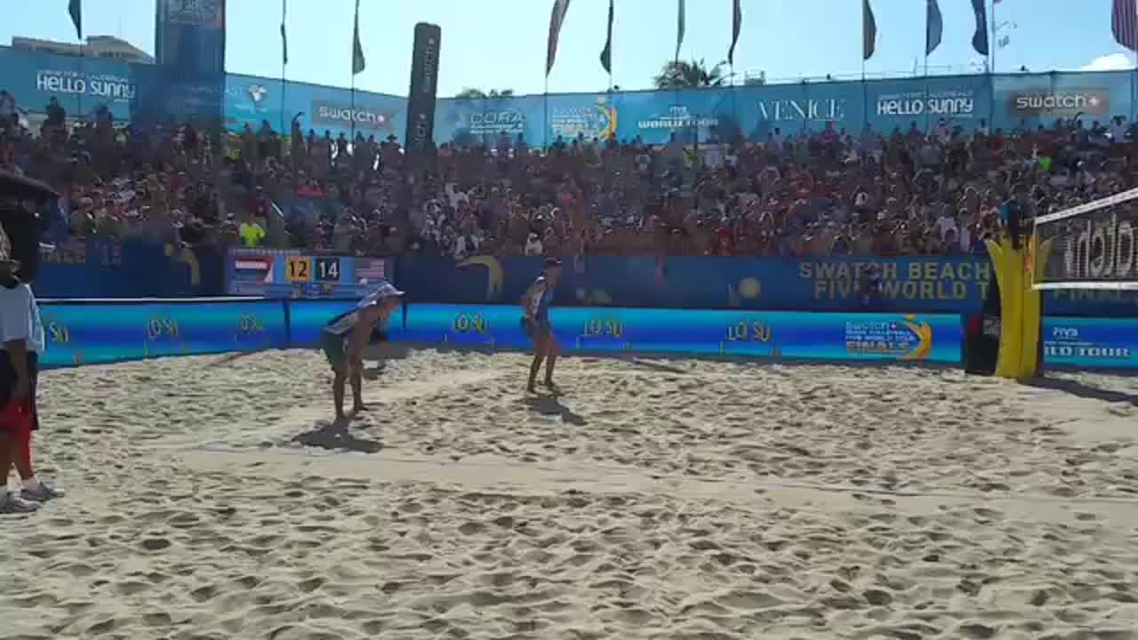 Match point Dalhausser Lucena World Tour Finals