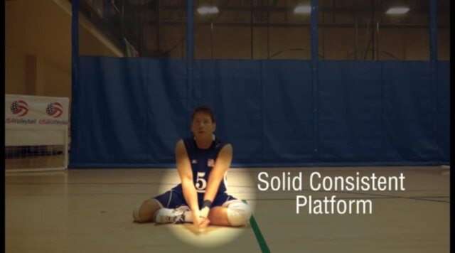 USAV Para Skill Video Forearm Passing