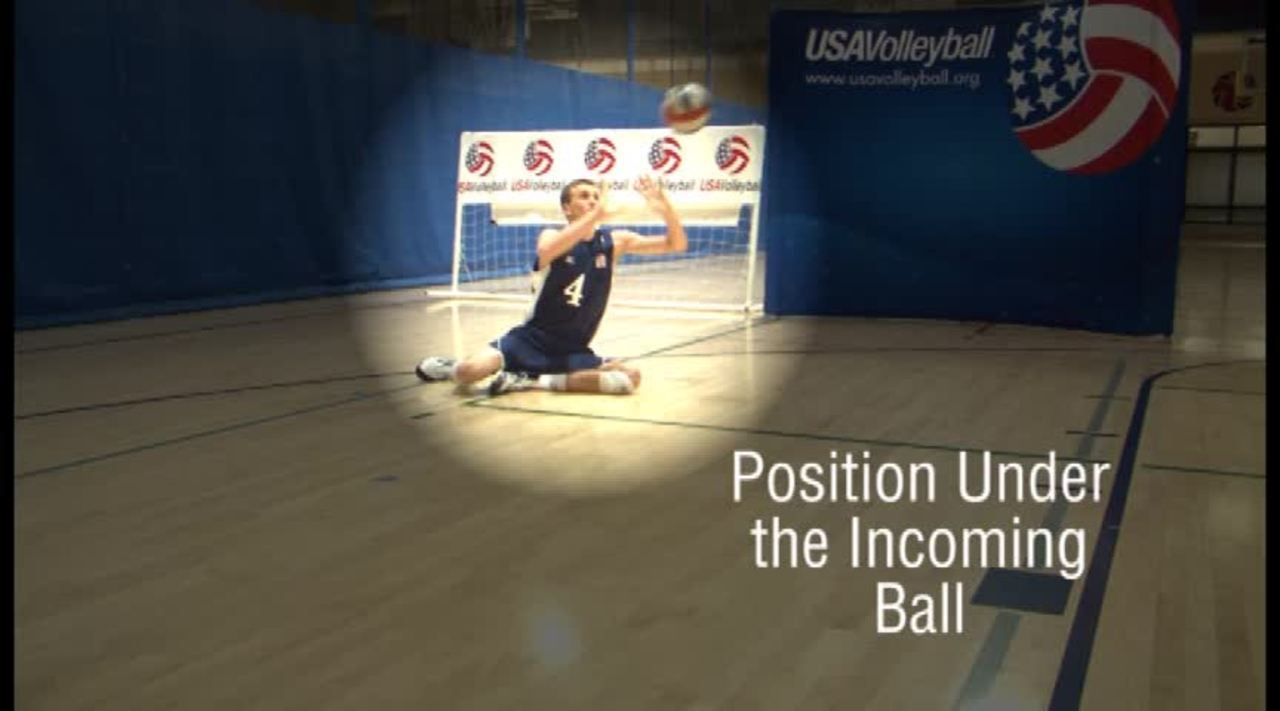USAV Para Skill Video Overhead Passing