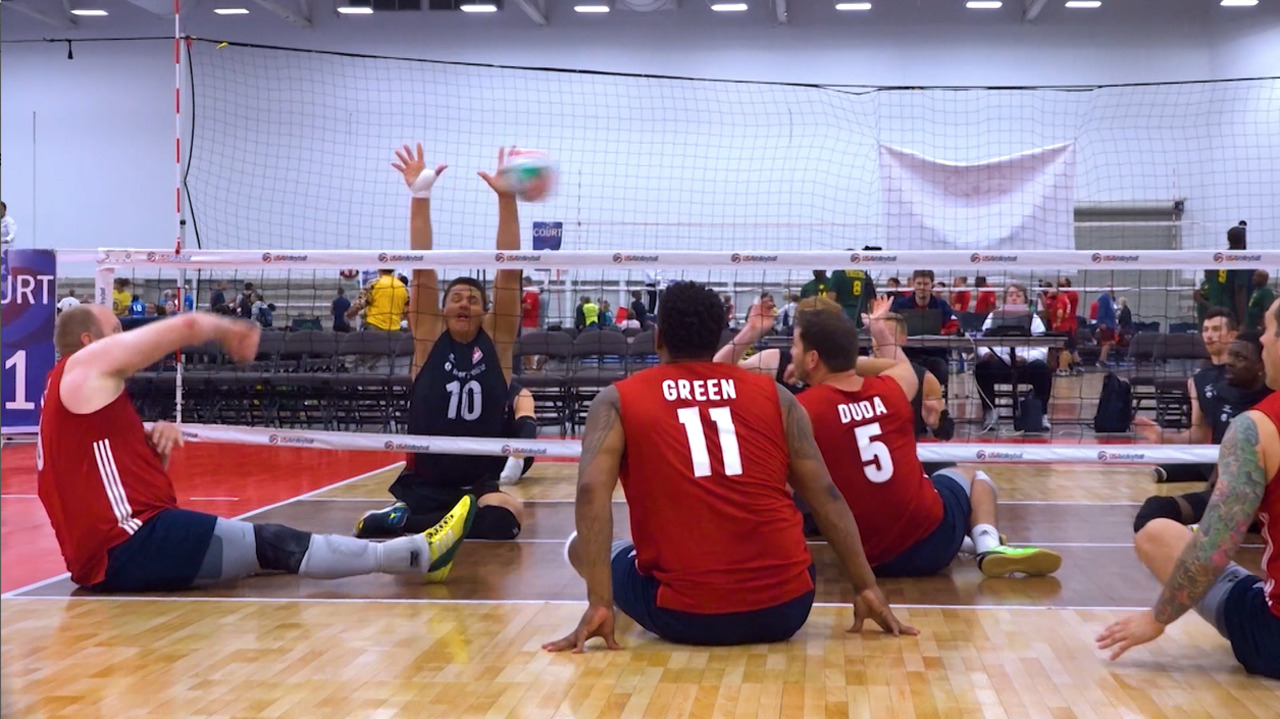 U.S. Men's Sitting National Team | #USAVfamily