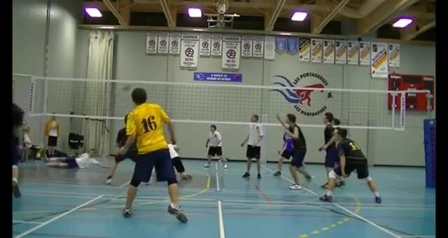 Volleyball Championnats Provinciaux 2013 - The Legendary Save