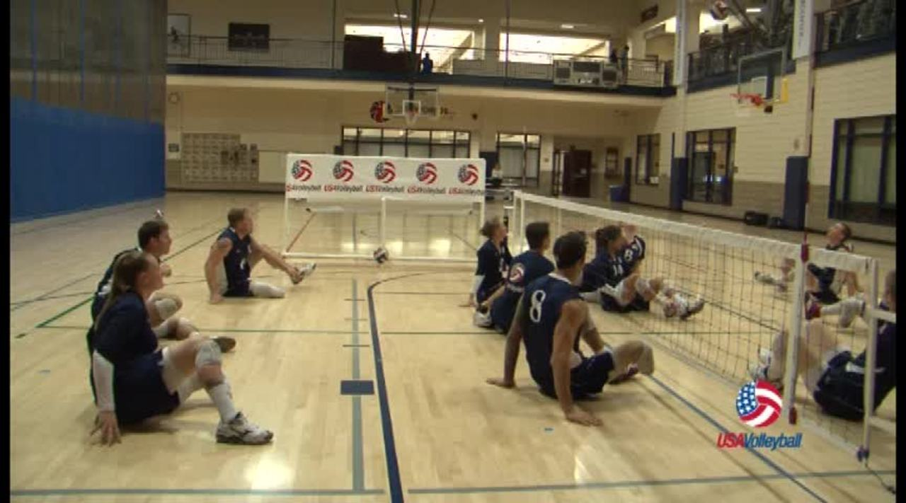 USAV Para Drill Video Back Row Hitting
