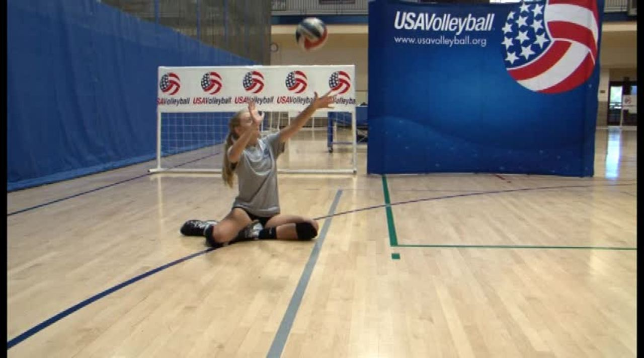 USAV Para Skill Video Serve Overhead