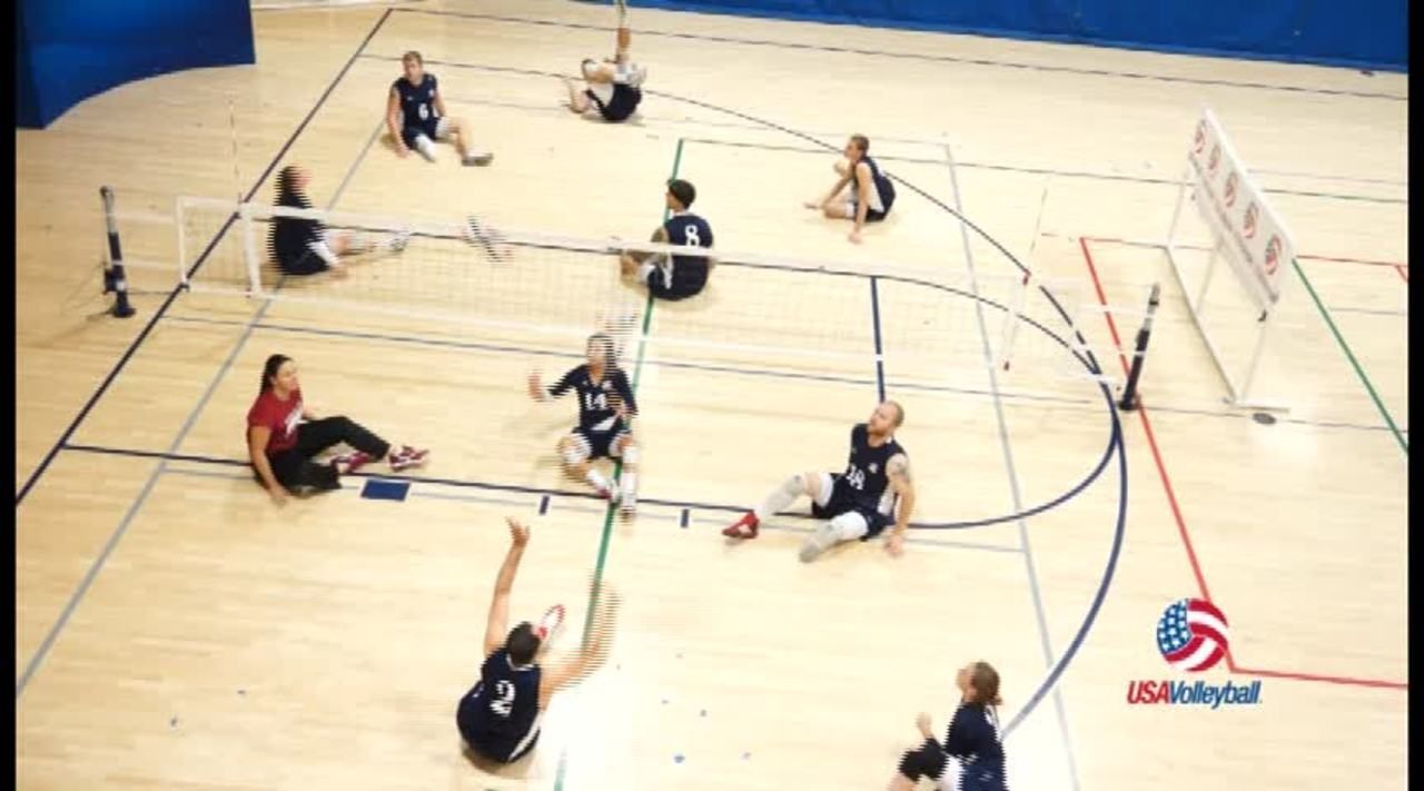 USAV Para Drill Video Set Away