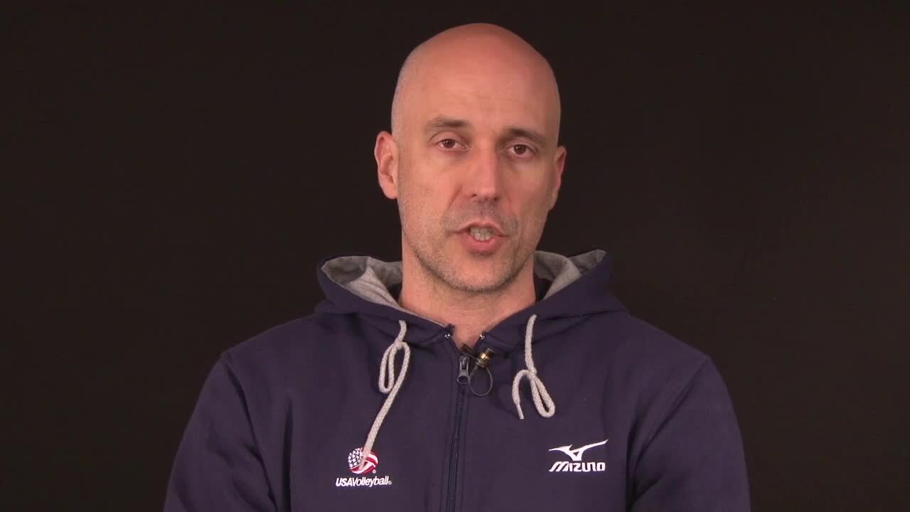 Meet John Speraw, head coach for USA Volleyball