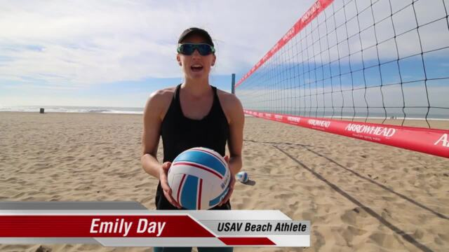 USAV Beach Tip Video - Cut Shot