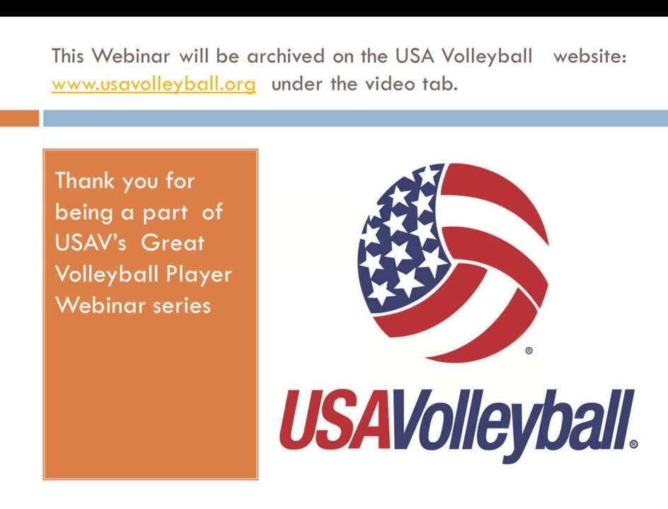 Gabe Gardner Perseverance Webinar | USAV SportKit