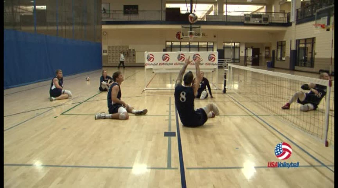 USAV Para Drill Video Setting Triangle
