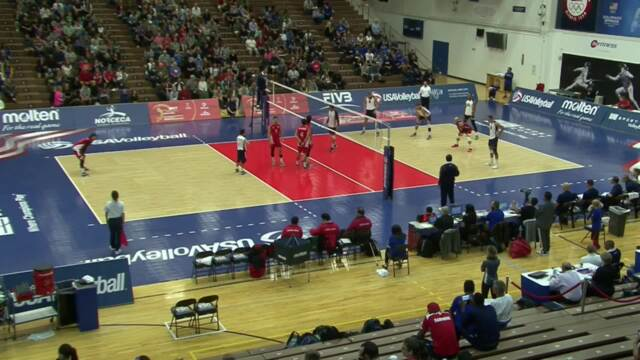 2017 NORCECA USA vs Costa Rica