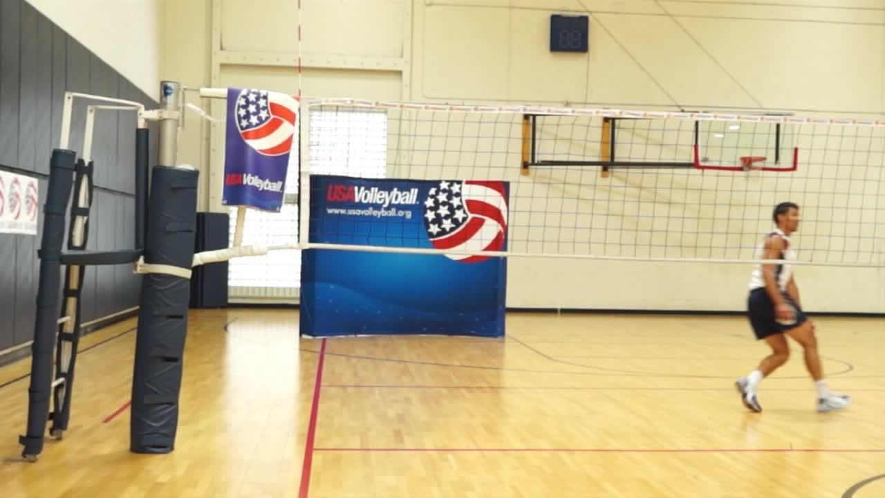USAV Skill Video Right Side Hitting