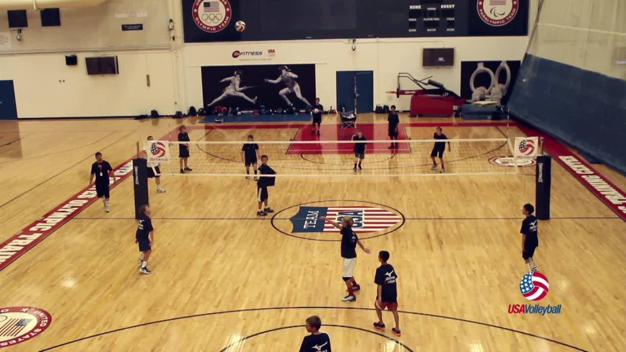 USAV Drill Video Speedball