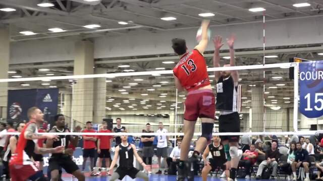 2018 USA Volleyball Open National Championships | Dallas