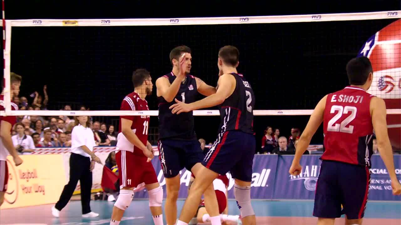 U.S. Men to Host World League in Dallas
