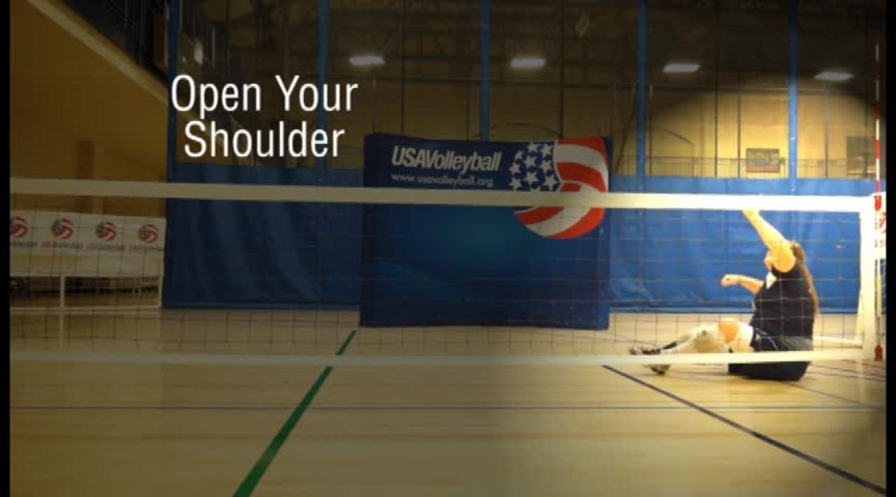 USAV Para Skill Video Left Side Hitting
