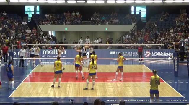 2017 Womens' USAV Cup | Match 1of 2 - Extra Set | August 27