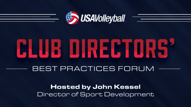 Tom Avischious, USA Swimming - 2016 Club Directors Best Practices Symposium