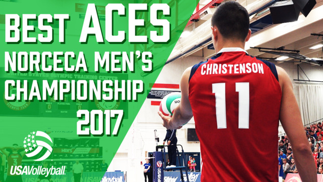 Best Aces | NORCECA Men's Championship 2017