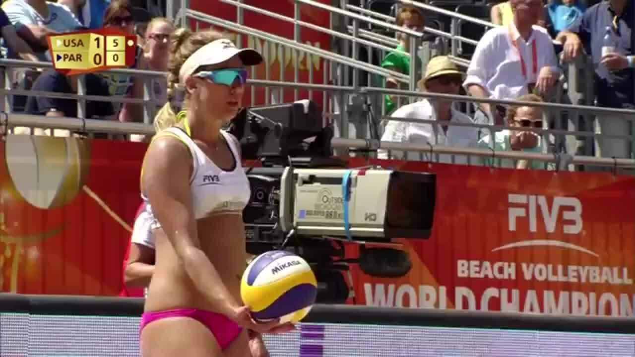 Kerri Walsh & April Ross just amazed in this play!