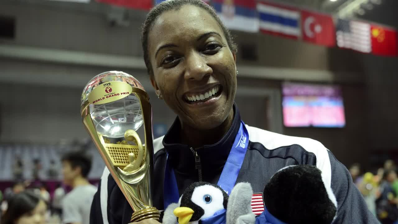Danielle Scott-Arruda - 2016 International Volleyball Hall of Fame Inductee