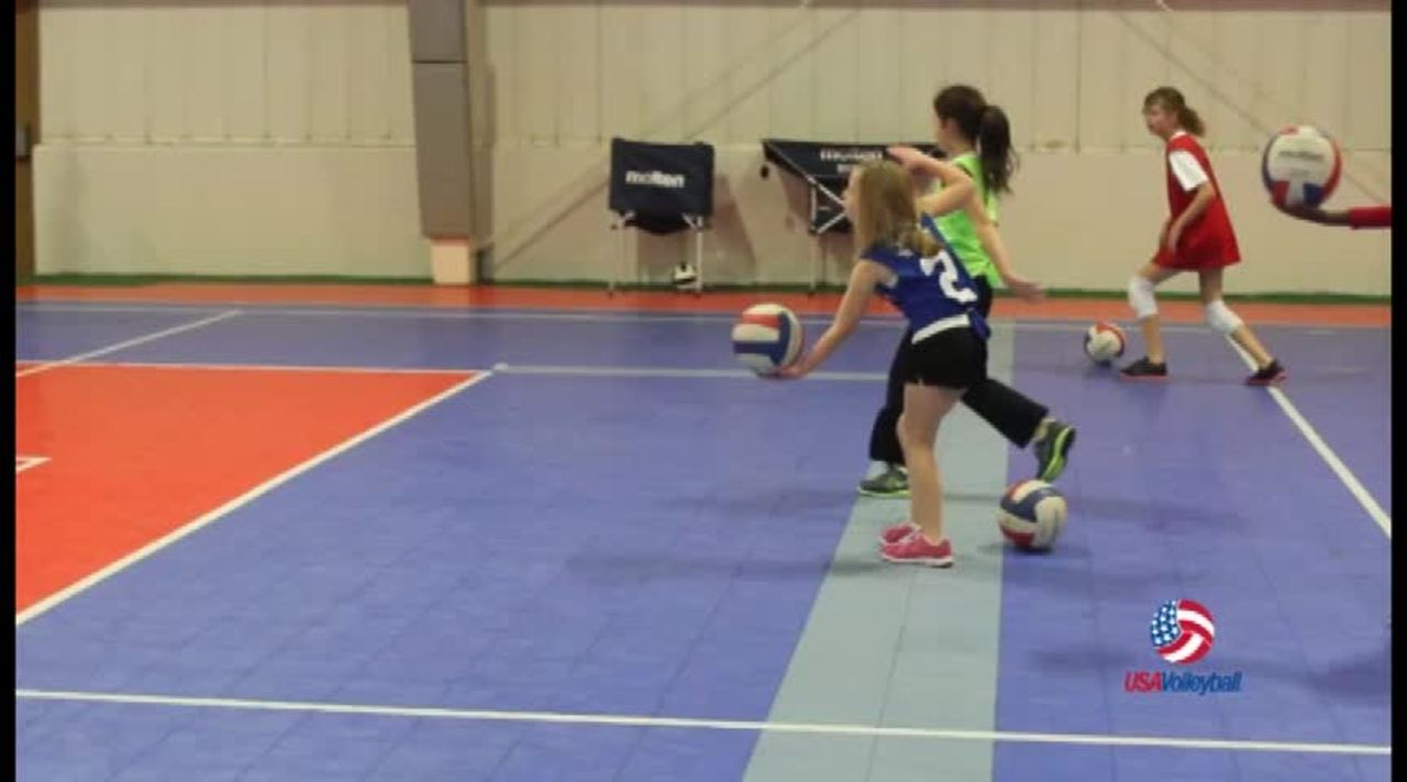 USAV Drill Video Serve and Sprint
