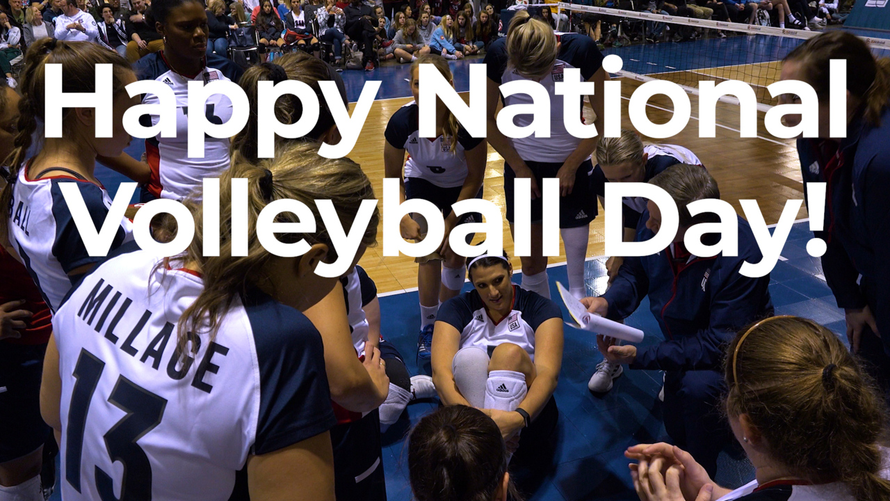 Happy National Volleyball Day