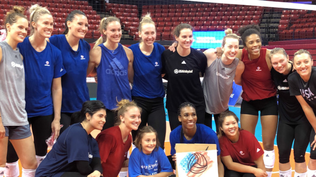 Chloe Trains with the U.S. Women's National Team | Make-A-Wish