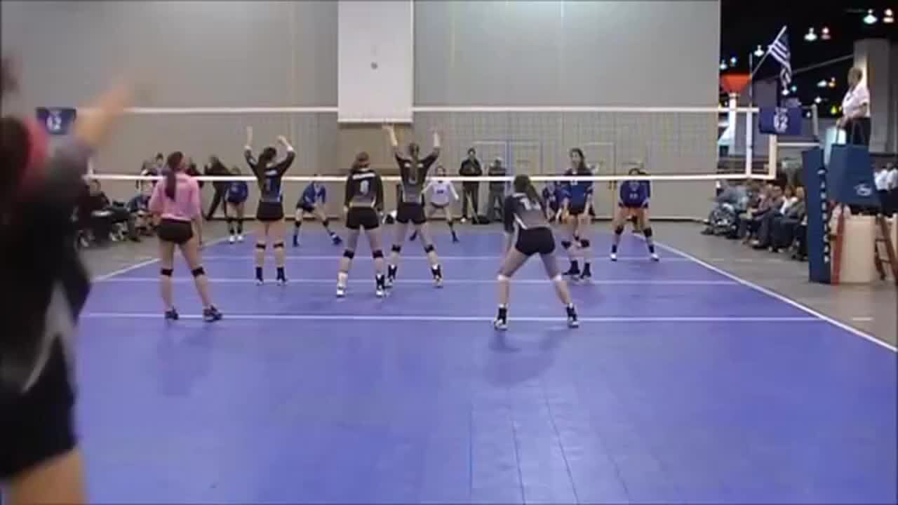 Oklahoma Peak 16-Smack Sam Ethridge's incredible volleyball kick at Crossroads 2013