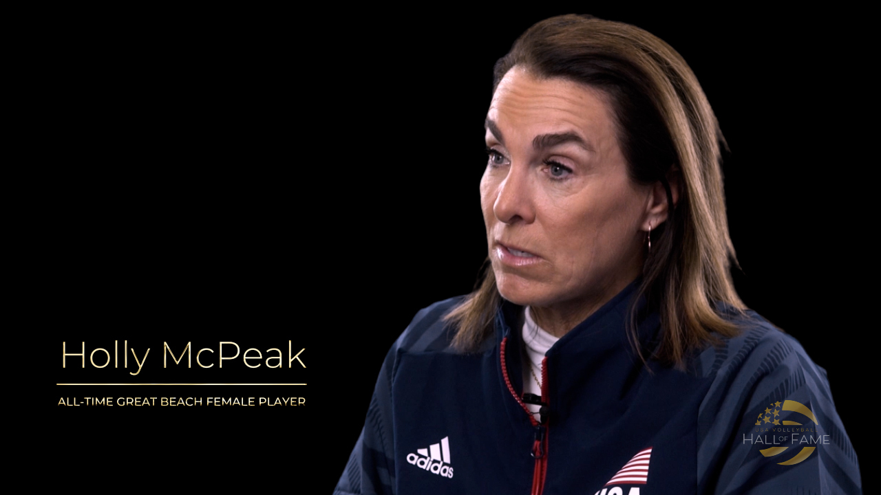 USA Volleyball Hall of Fame Promo Holly McPeak