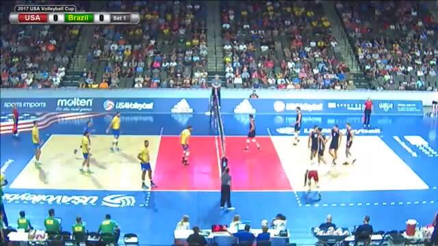 2017 Mens' USAV Cup | Match 1 of 2 | August 18
