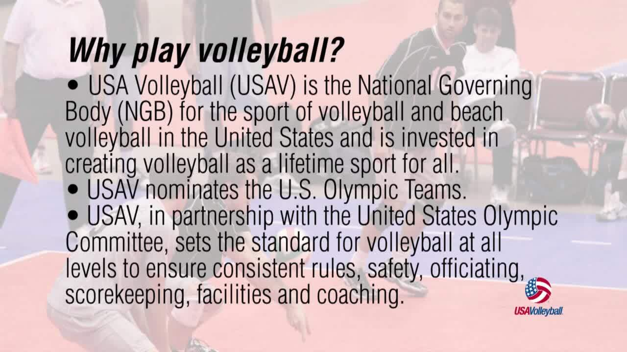 Why play volleyball | USAV SportKit