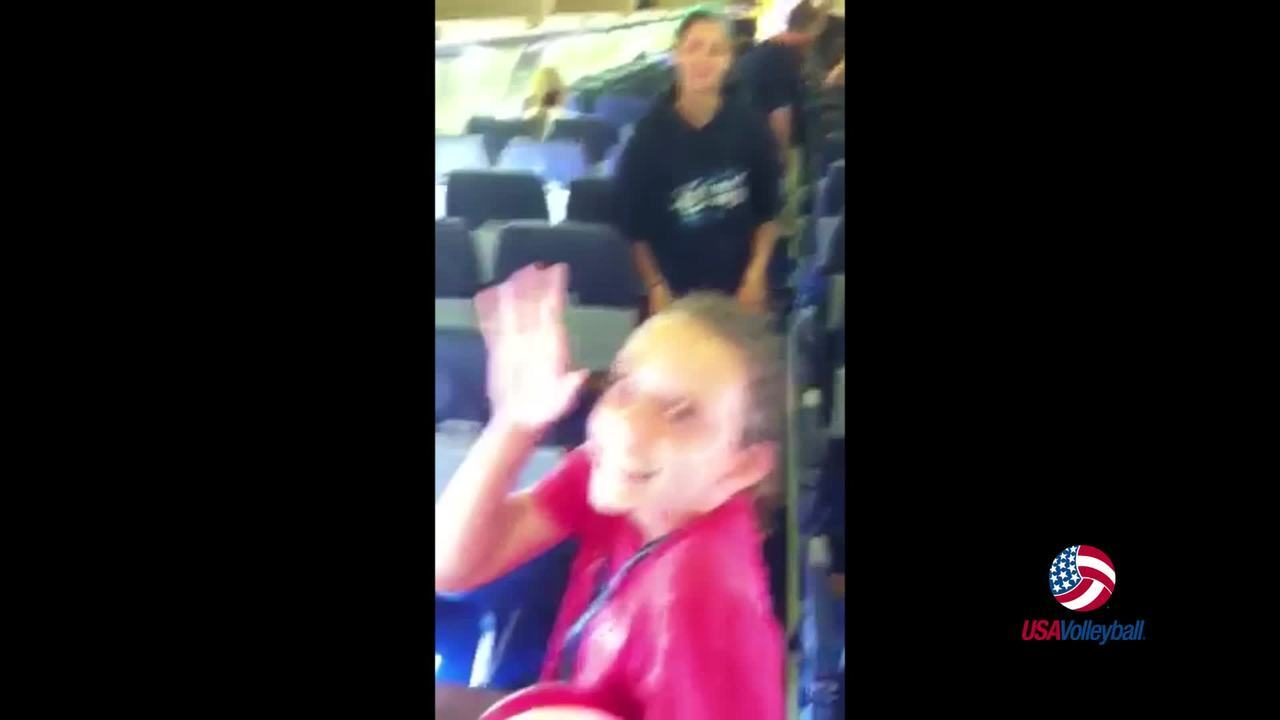 The Game Will Find a Way - Volleyball on an Airplane