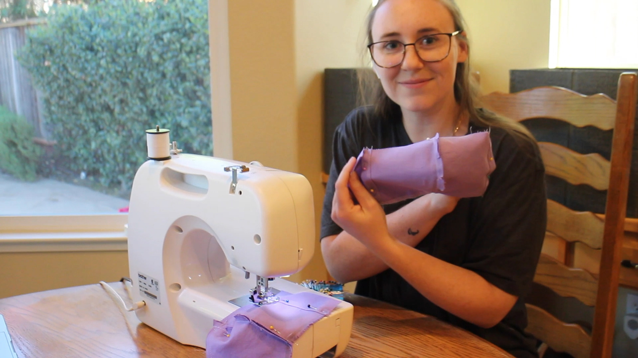 Making Filtered Masks | Bethany Zummo | U.S. Women's Sitting National Team