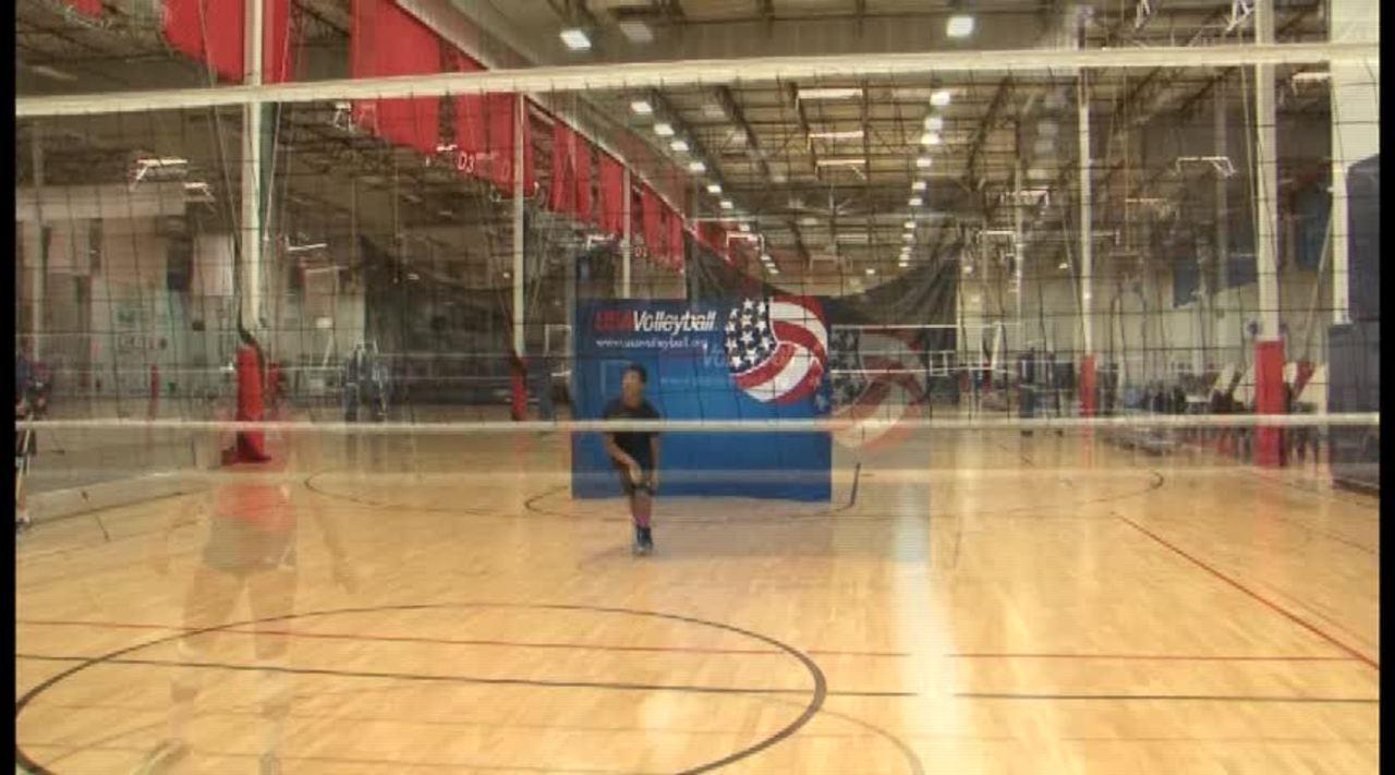 USAV  Skill Video Middle Hitting